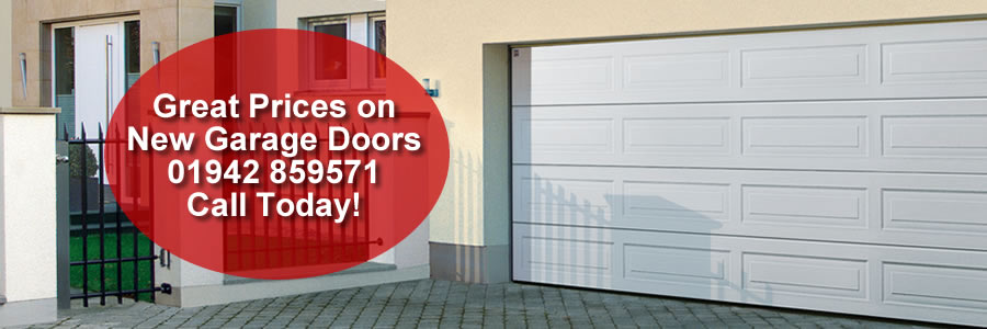 great prices on new garage doors in leigh